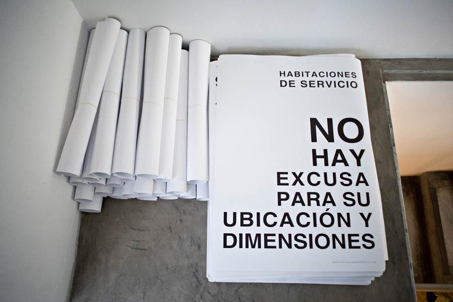 Daniela Ortiz presenta su nuevo proyecto 'Habitaciones de Servico' en Febrero Feminista