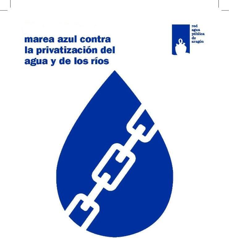 """Manifestación """"contra la privatización del agua y de los ríos: por una gestión pública transparente y participativa"""""""