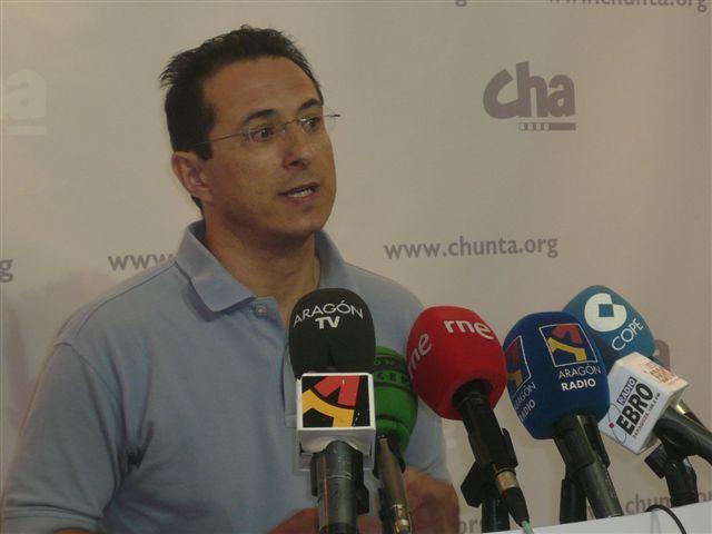 CHA reclama en el parlamento europeo la «atención política que se merece el problema del lindano en Aragón»