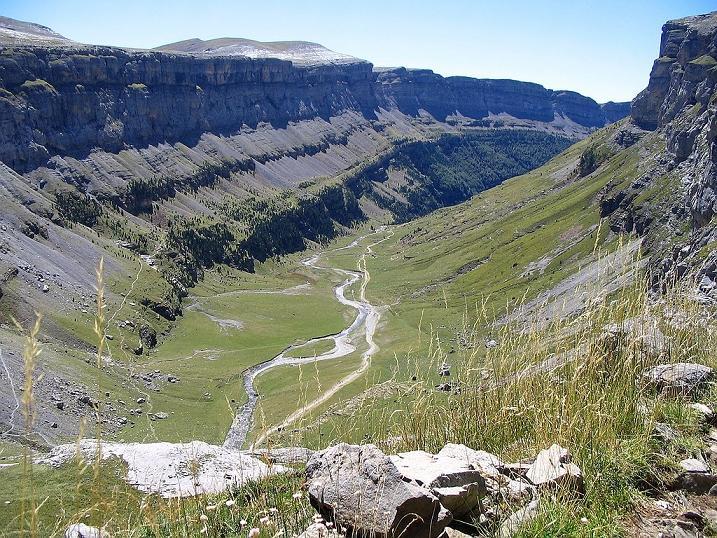 IU exige al Gobierno de Aragón que impida la construcción de centrales hidroeléctricas en el Parque Natural de Ordesa y Monte Perdido