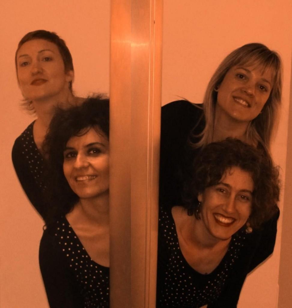 Concierto de Sarasvati, cuarteto vocal femenino