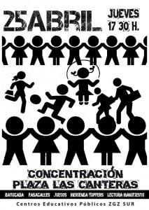 CONCENTRACION 25 ABRIL PZA CANTERAS421
