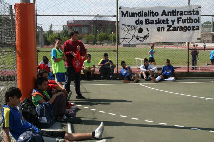 La quinta edición del Mundialito Anti-Racista de Zaragoza se celebrará el sábado 18 de mayo