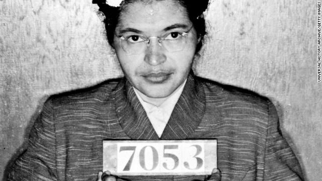 Congelada en piedra, congelada en tiempo: la rebelde Rosa Parks