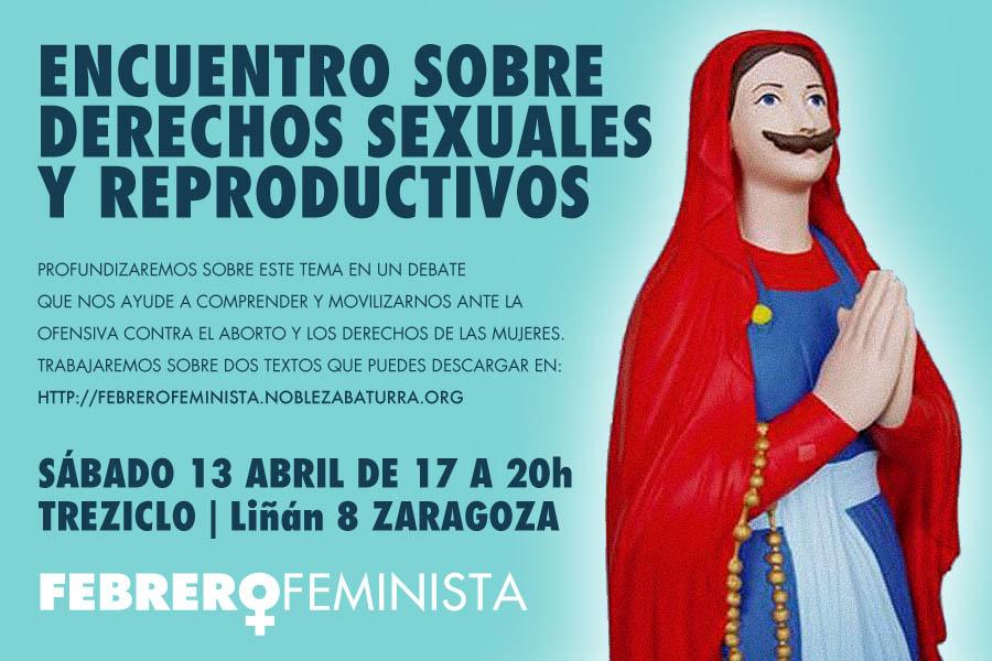 Febrero Feminista organiza un encuentro sobre Derechos Sexuales y Reproductivos