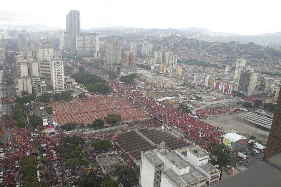 De escenarios reales y realidades ficticias, Venezuela un pueblo hecho conciencia