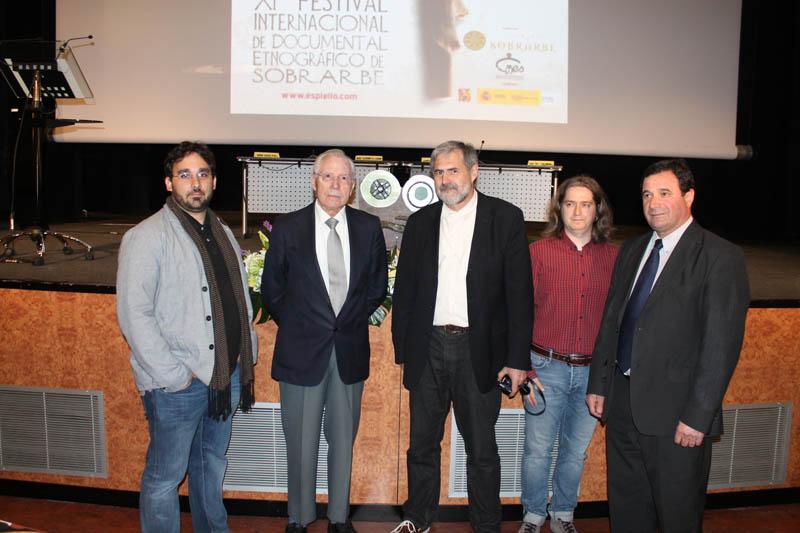 En la inauguración de Espiello, Carmelo Lisón Tolosana defiende la necesidad de recoger el patrimonio cultural de los pueblos
