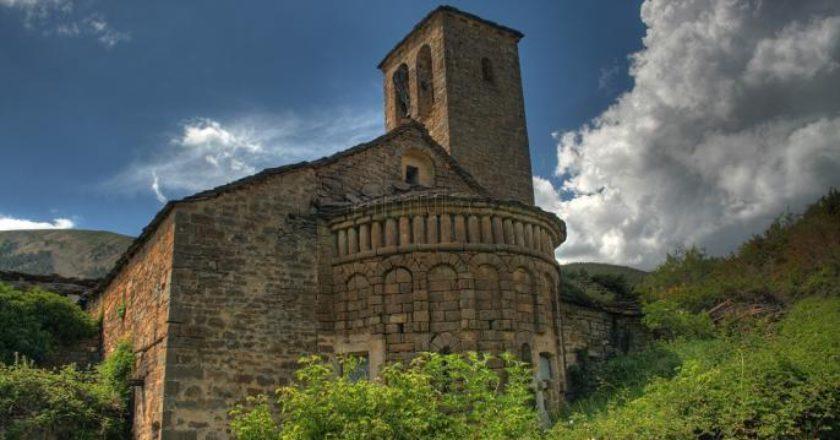 Foto: Iglesia de Otal   Sergio Berne