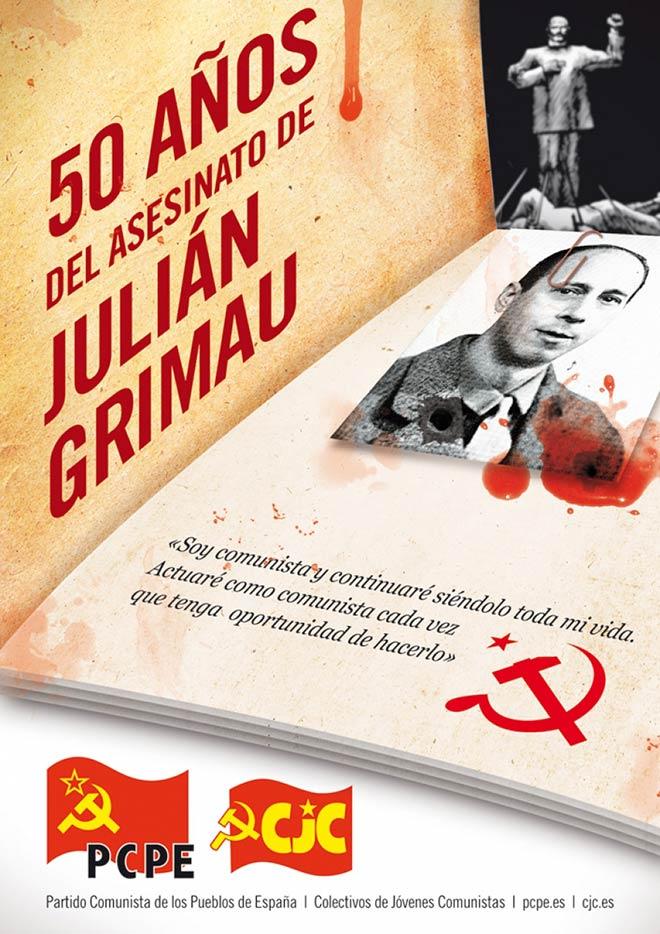 20 de abril, 50 años del asesinato de Julián Grimau
