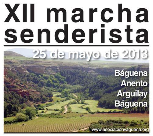 La Asociación Cultural Vaguena organiza una marcha senderista por la comarca del Xiloca
