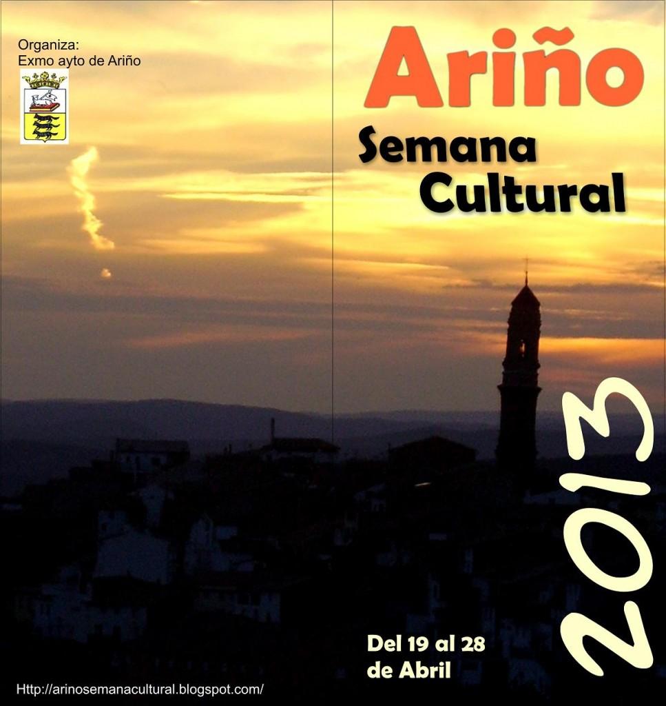 "La ""Semana Cultural 2013"" de Ariño dinamiza la vida cultural de la redolada de Andorra-Sierra de Arcos"