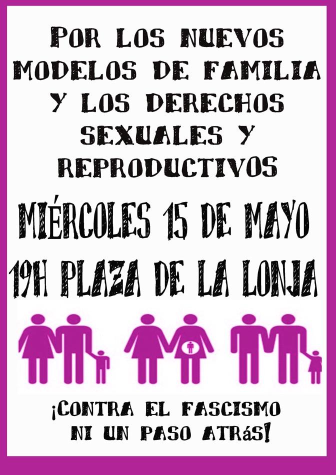 """Febrero Feminista: """"Por los nuevos modelos de familia y los derechos sexuales y reproductivos"""""""