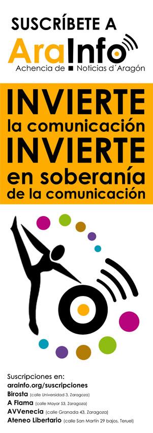 [AraInfo sortea dos entradas para Bad Manners] Suscríbete a AraInfo: Invierte en soberanía de la comunicación