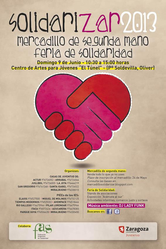 Abierto el plazo para reservar un puesto en SolidariZar 2013