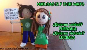 Teruel irá a la Huelga en Enseñanza los días 22 y 23