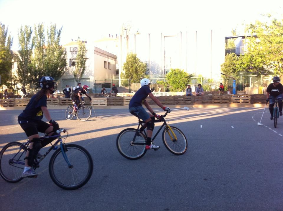 Se celebró en Zaragoza o III Campionato Iberico de Bikepolo