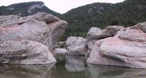 embalse del rio Bergantes