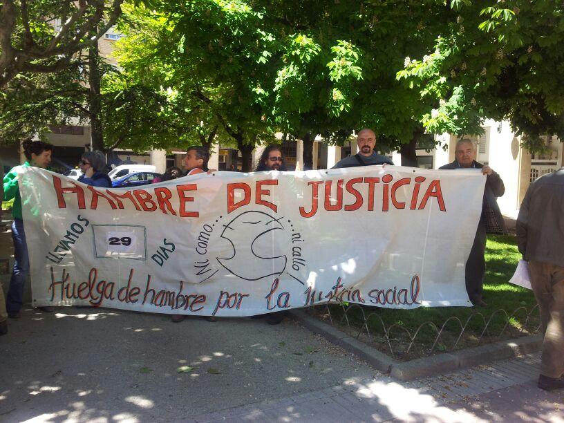 La iniciativa Hambre de Justicia de Uesca apoya la Huelga de Enseñanza