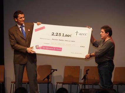Rotundo éxito del I Festival Benéfico de lucha contra el Cáncer 'En memoria de Nynes'