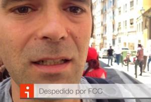 Pablo Monge, despedido por FCC. Foto: AraInfo