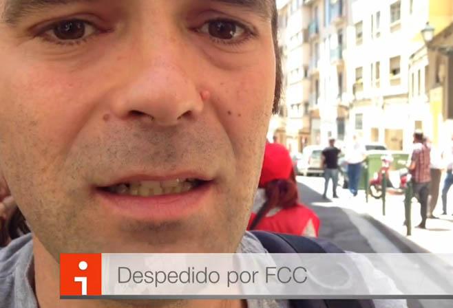 Video entrevista con Pablo, despedido por FCC Limpieza