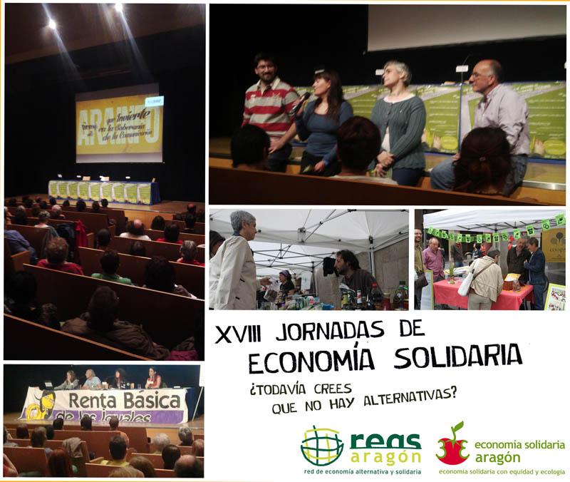 Las Jornadas de Reas Aragón ponen de manifiesto que la economía social y solidaria es posible y viable