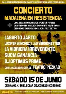 Madalena en Resistencia CONCIERTO 15j