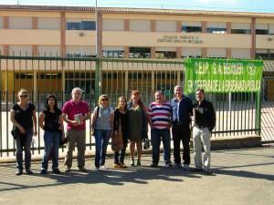 Rueda prensa Plataforma supresión comedor barrios rurales