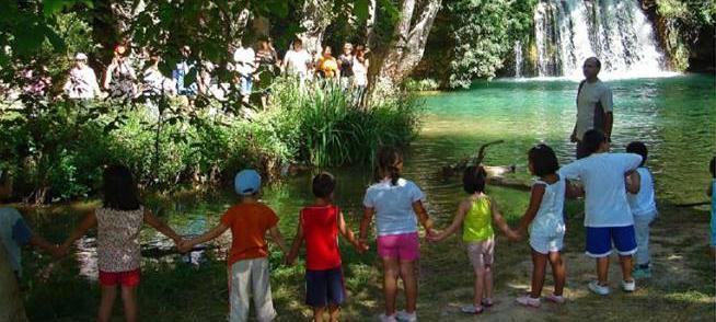 Hoy se celebra el VII Abrazo al Río Manubles contra la mina de Borobia