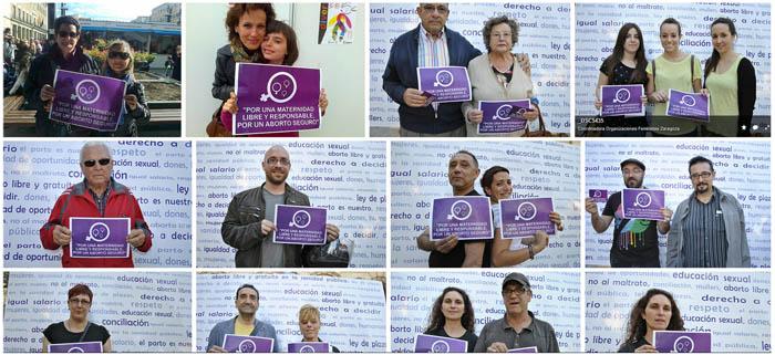 La Coordinadora de Organizaciones Feministas de Zaragoza celebra el Día Internacional de las Mujeres por la Paz y el Desarme con varios actos