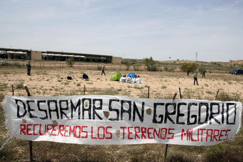 El campo militar de San Gregorio, una amenaza constante para la población cercana y para el medio ambiente