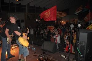 Prau en directo en Esfendemos a Tierra 2013. Foto: Serchio Tella