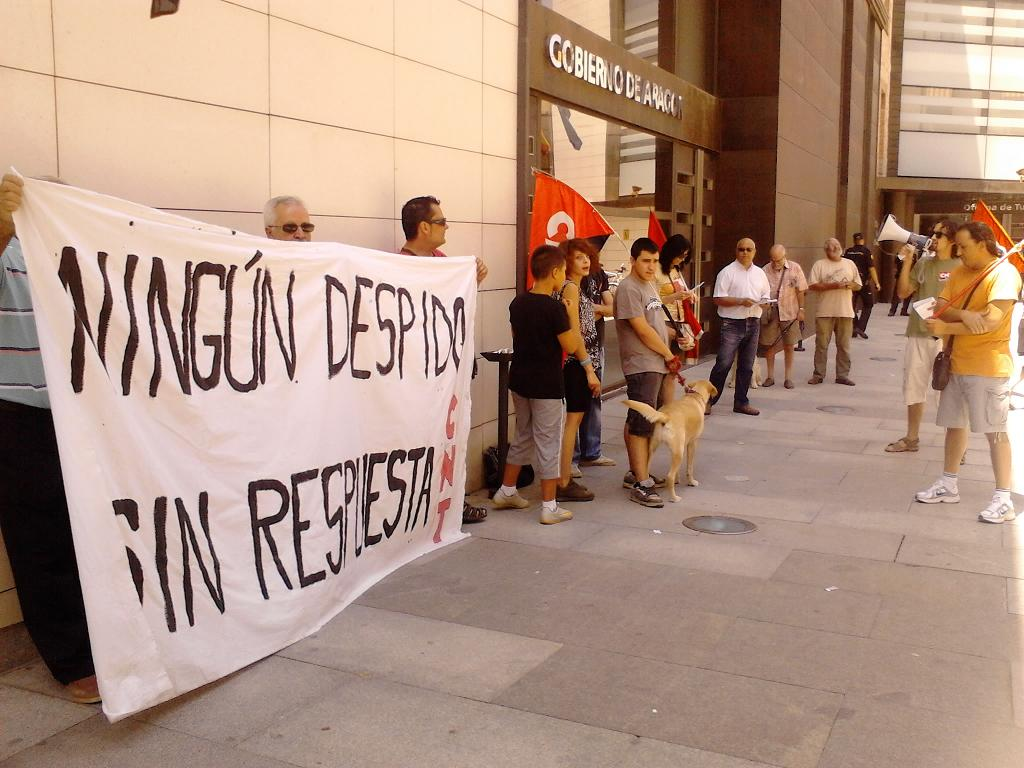CNT planta cara al despido de su delegada en el Servicio Provincial de Medio Ambiente en Teruel