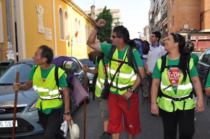 El viaje por la dignidad llega a Zaragoza