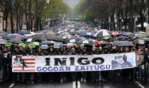 Uno de los muchos actos realizados reclamando justicia para Cabacas. Foto: Agencias