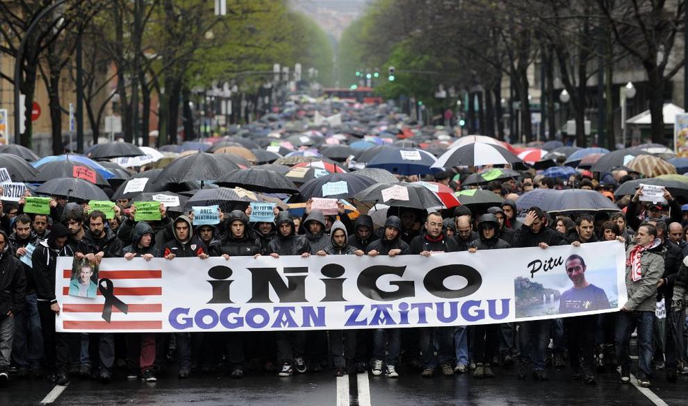 Condenado a dos años y medio de cárcel uno de los seis ertzainas juzgados por la muerte de Iñigo Cabacas