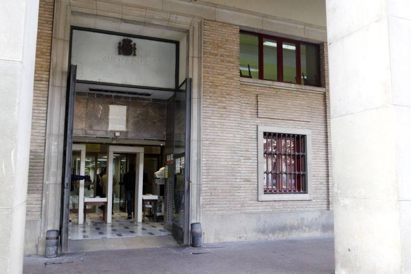 IU exige la cesión de los antiguos juzgados al Ayuntamiento de Zaragoza para un centro ciudadano