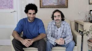 Miguel Cabrejas y Javier Ercilla, dos de los creadores de Sketches.es