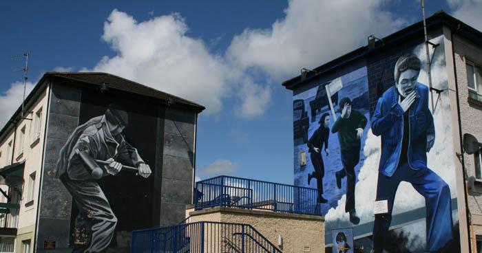 Memoria de la resistencia. Una lección de historia en Derry