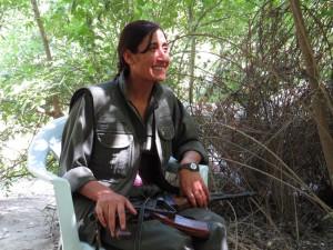 Guerrillera Rengin Botan (PKK). Foto: Leando Albani