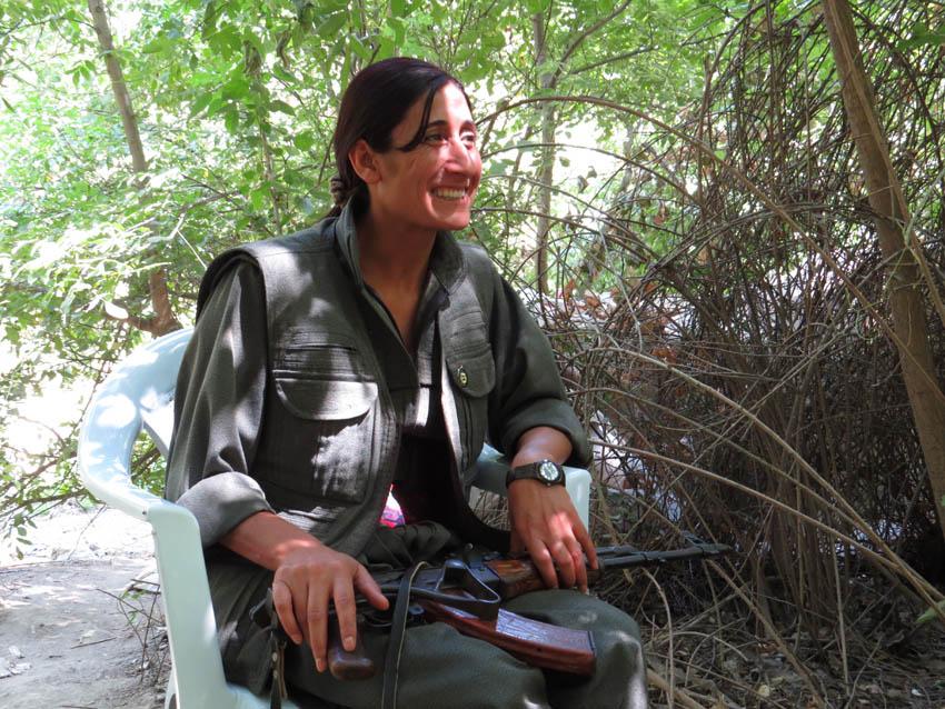 """Mujeres del PKK: """"Liberarnos como mujeres para liberar a la sociedad"""""""
