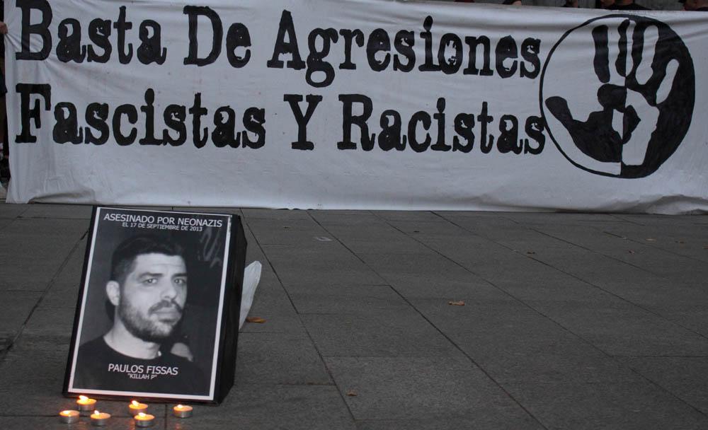 Zaragoza no olvida a Pavlos Fyssas y clama contra el fascismo