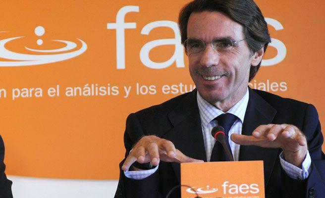 El Gobierno concede a la FAES de Aznar las mismas ayudas que a Unicef para promover los derechos humanos