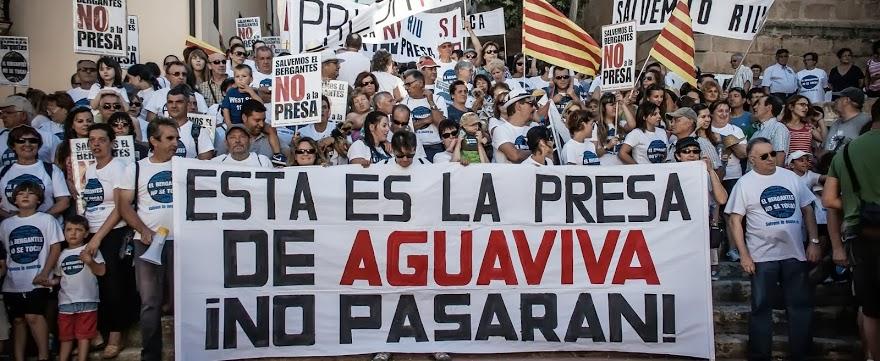 'El Bergantes no se toca' muestra su perplejidad ante el informe de INAGA sobre la presa