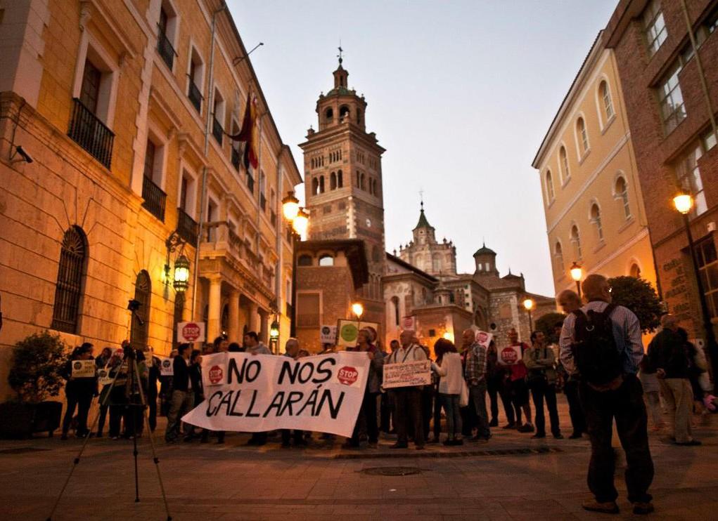 La PAH de Teruel alerta sobre la emergencia social en la ciudad