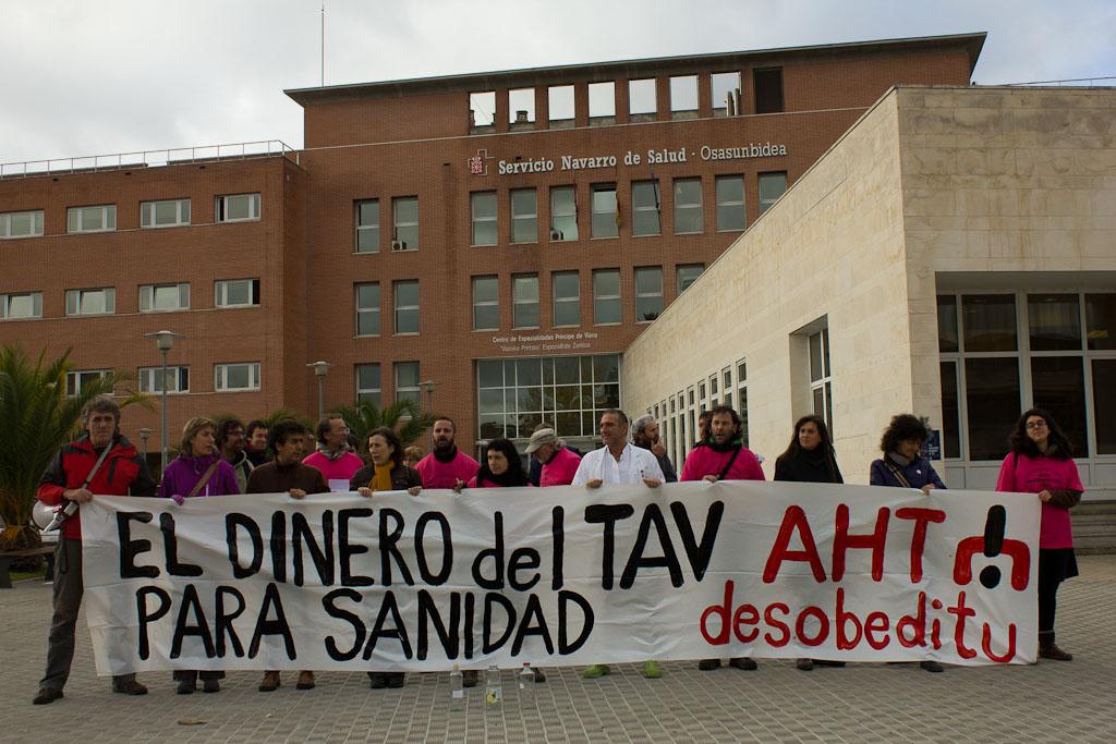 """La AN fija el juicio por """"los tartazos a Barcina"""" para el 18 de noviembre con demandas de 5 a 9 años de prisión"""