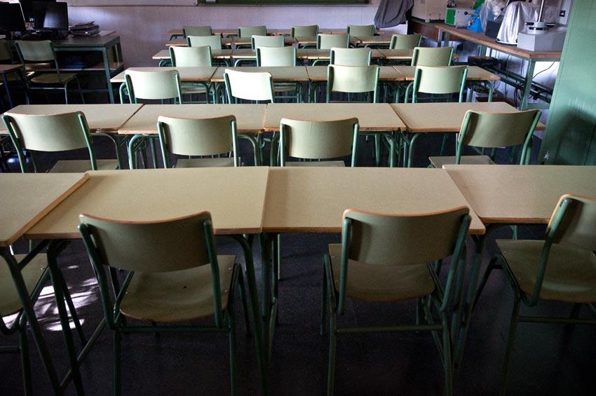 El IES Pilar Lorengar de Zaragoza sanciona al alumnado que se encerró para protestar por las deficiencias del centro