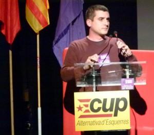 """""""Hemos hecho todo los esfuerzos con los partidos, ya no podemos hacer más. Este espectáculo no se lo merece nadie"""", dice el diputado Quim Arrufat. Foto: CUP"""