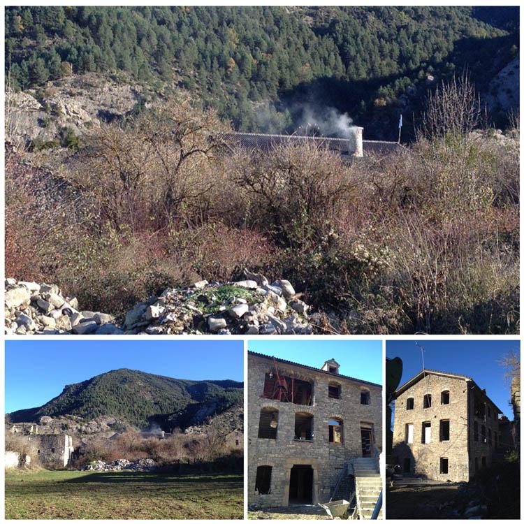 Tras años de lucha en Chanovas, el humo vuelve a salir por sus chamineras