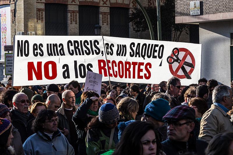IU Aragón impulsa y participa en las movilizaciones convocadas bajo el lema 'Si nos movemos, cambiamos todo'